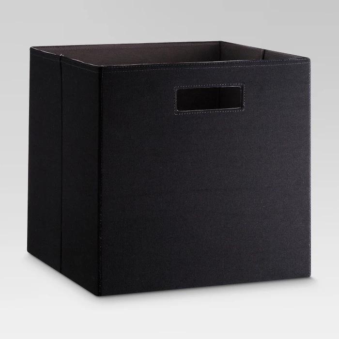 Fabric Cube Storage Bin 13 Threshold Cube Storage Bins Cube Storage Fabric Storage Bins