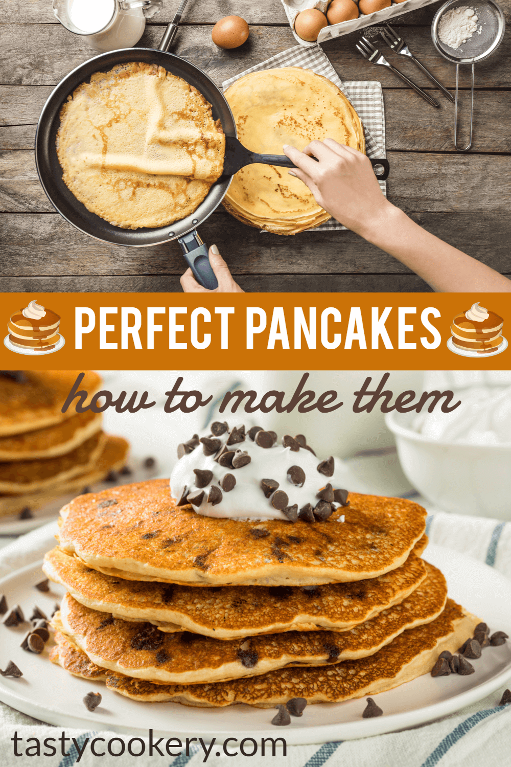 How To Make Perfect Pancakes Recipe Tasty Dishes Breakfast Brunch Recipes Perfect Pancakes