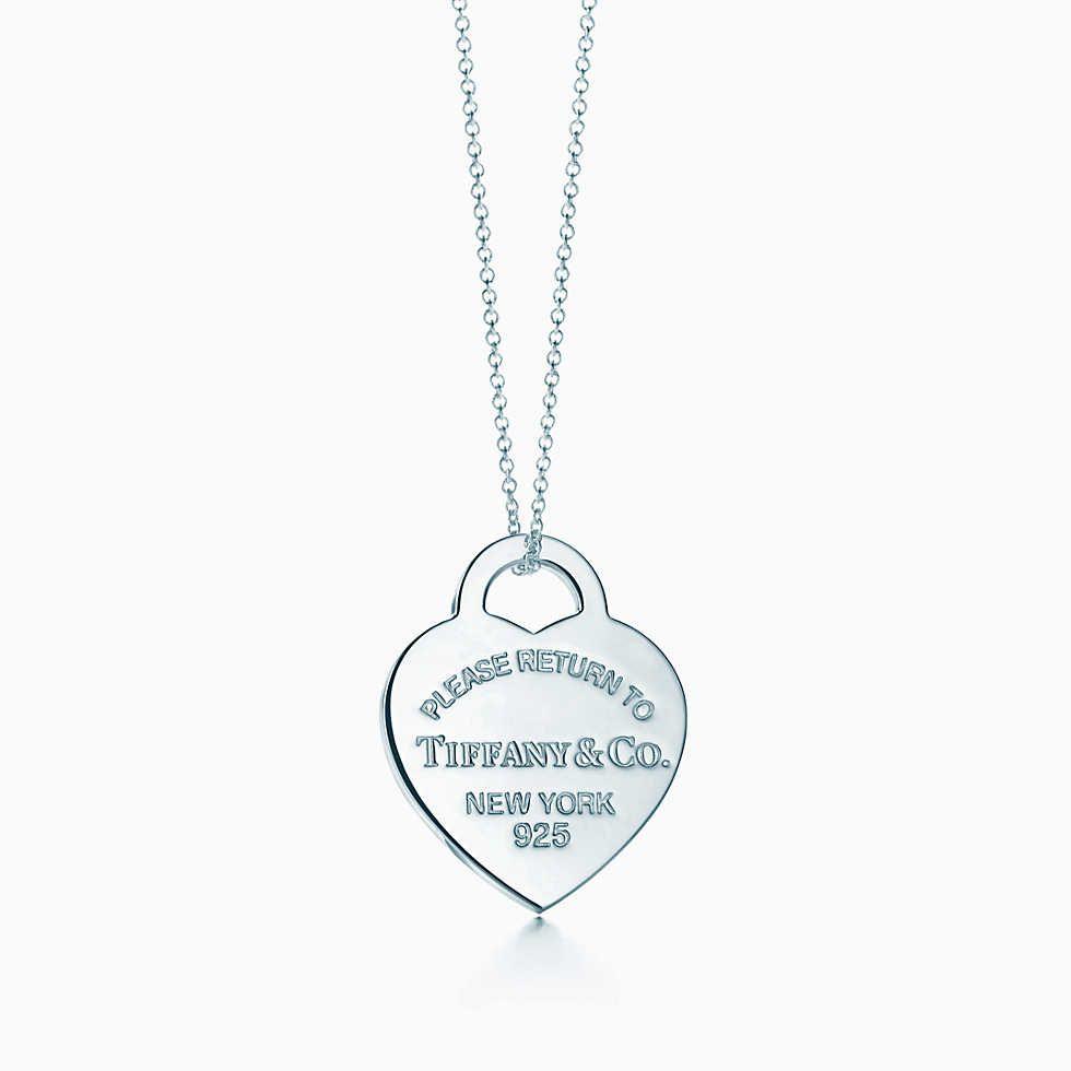 Mini Double Heart Tag Pendant In 2019 Tiffany Co