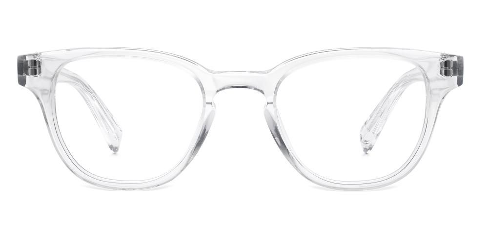 coley eyeglasses in crystal for women