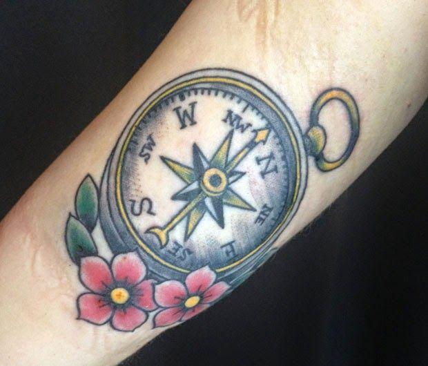 56 Rosa dos ventos   Leles Tattoo