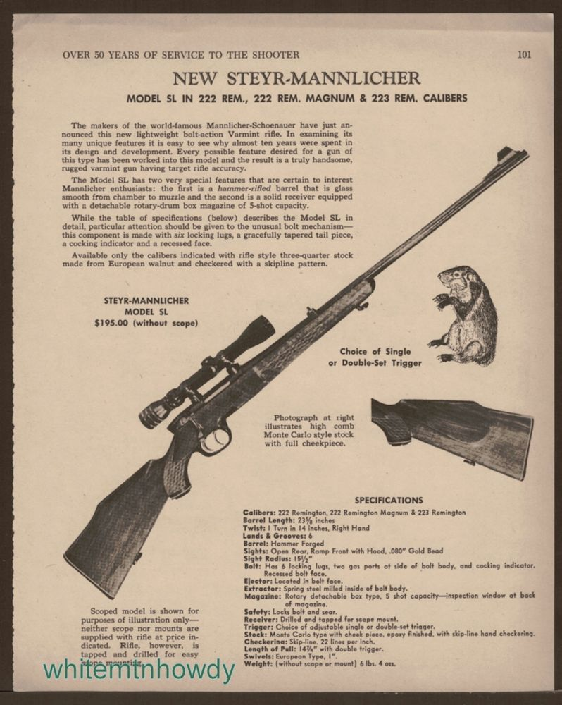 Image result for gun digest 1959 22 rifles prices