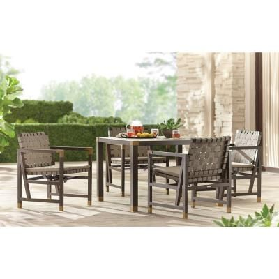 Brown Jordan Form 42 In Square Patio Dining Table Stock