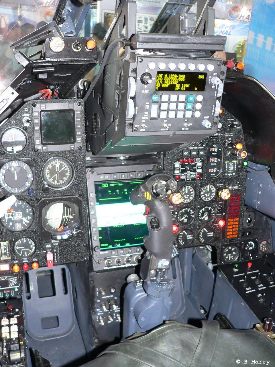 Indian SEPECAT Jaguar cockpit upgrade (named