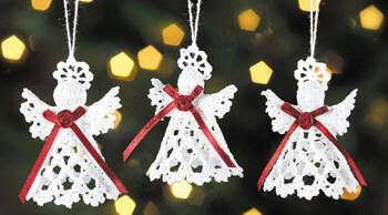Easy Christmas Amigurumi : Crochet christmas angels craft ideas just admired pinterest