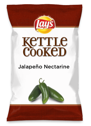 Wouldn't Jalapeño Nectarine be yummy as a chip? Lay's Do Us A Flavor is back, and the search is on for the yummiest flavor idea. Create a flavor, choose a chip and you could win $1 million! https://www.dousaflavor.com See Rules.