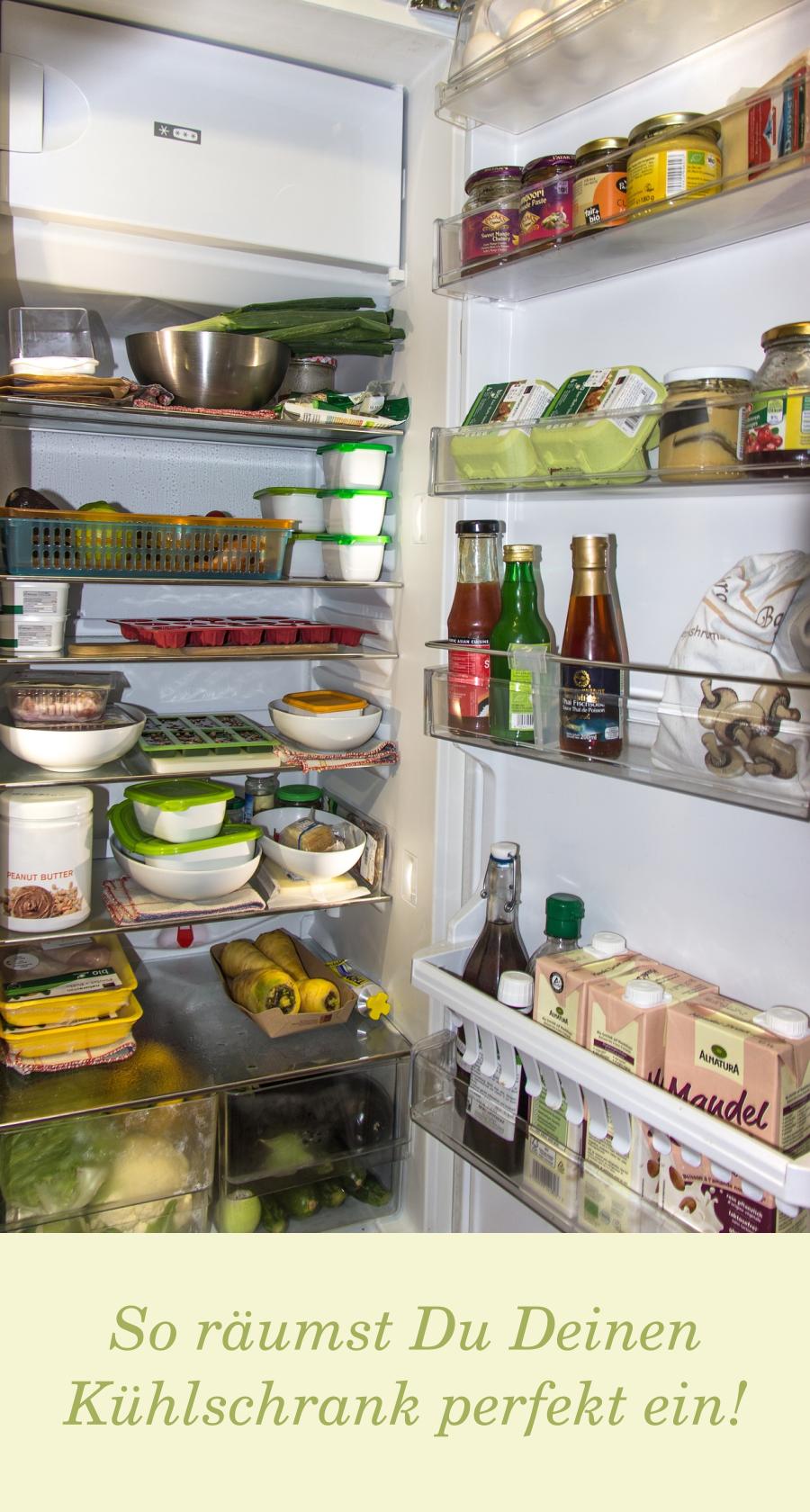 Kuhlschrank Einraumen Organisieren Reinigen Haushalts Tipps