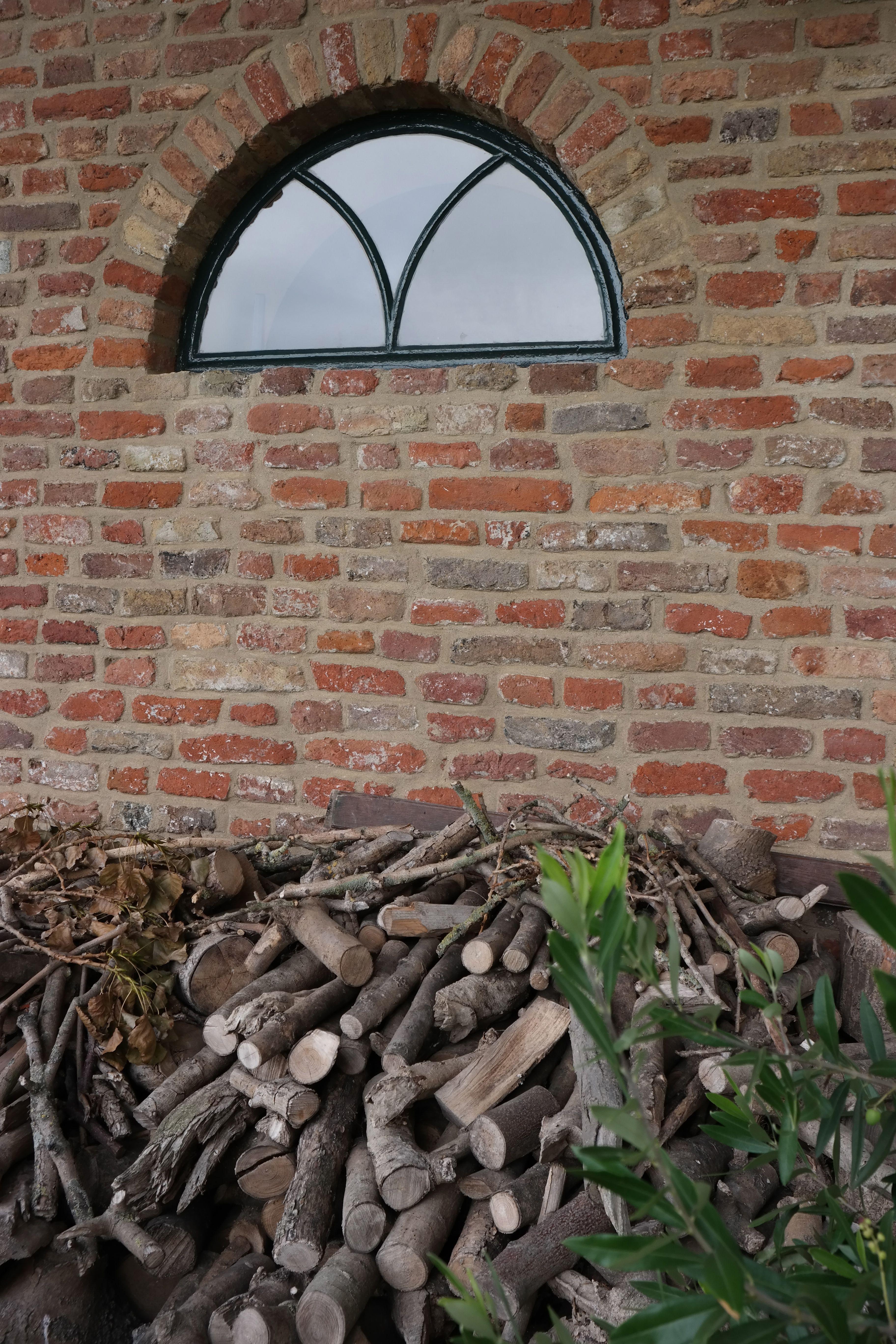 Stalraam Woonboerderij Buitenkant Huis Boerderij Inrichting Buitenmuren