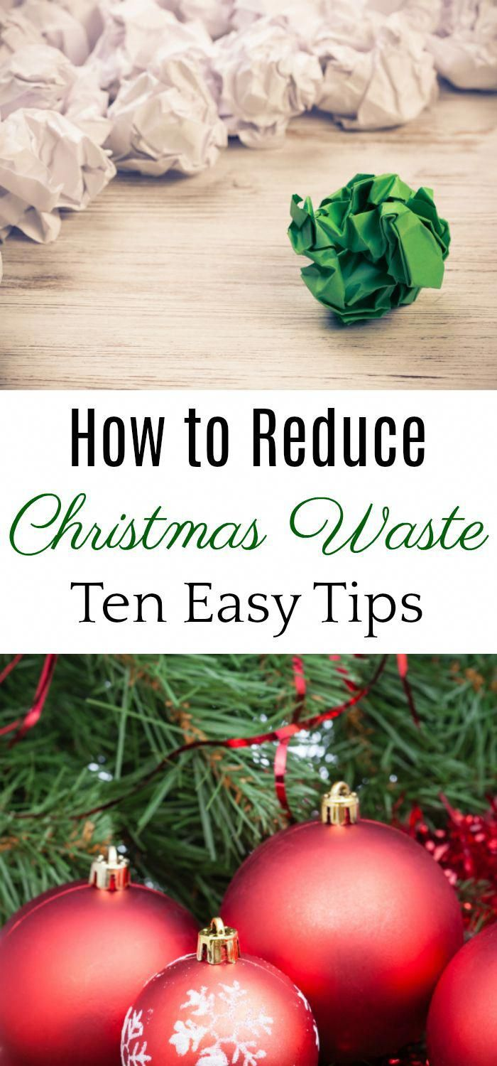 Reduce Christmas Waste How To Reduce Christmas Waste Eco