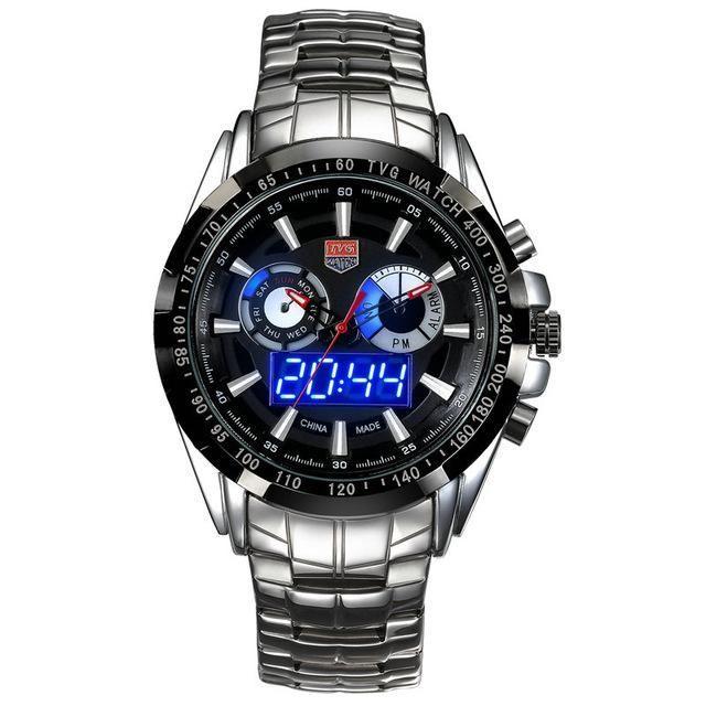 TVG Luxury Digital Sports Watch