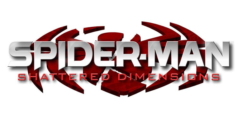Game logo spiderman shattered dimensions art gallery