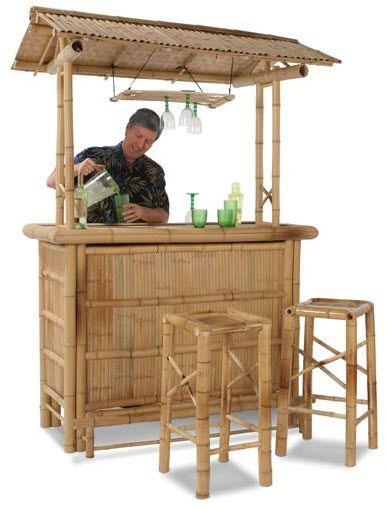 Bamboo Tiki Bar Turns Your Backyard Into A Beachfront ...