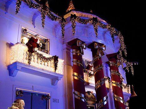 Fotos Casas Decoradas Navidad.Fachadas Decoradas De Navidad Fachadas De Casas Y Casas