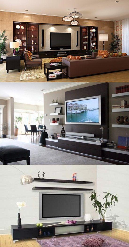 4 Decorative Tv Stand Design Ideas Window Curtains