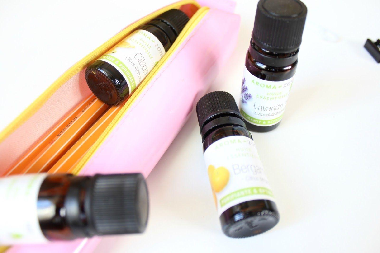 L'aromathérapie pour bien se préparer à la rentrée des classes : les huiles essentielles indispensables.