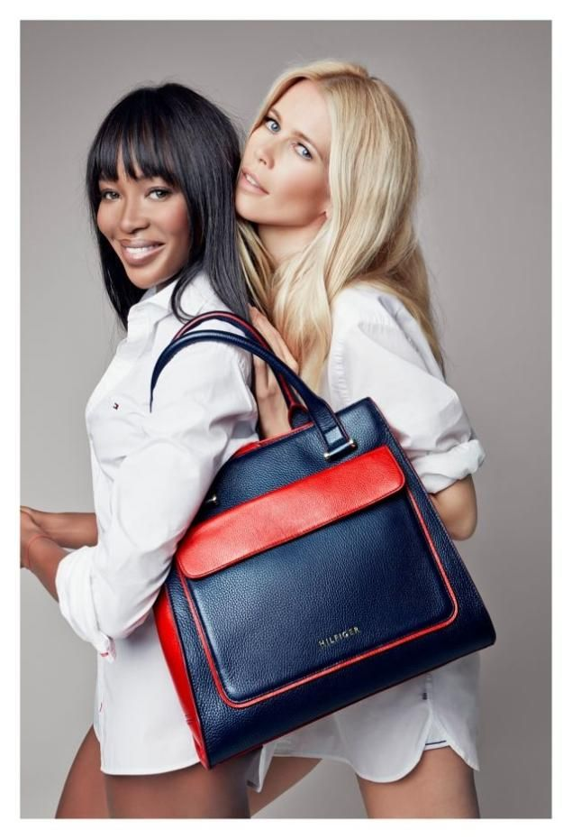 12ea6fe5414 Tommy Hilfiger donates $100 from the purchase of each Breast Cancer  Awareness handbag to the Fund for Living, a Breast Health International  Initiative.