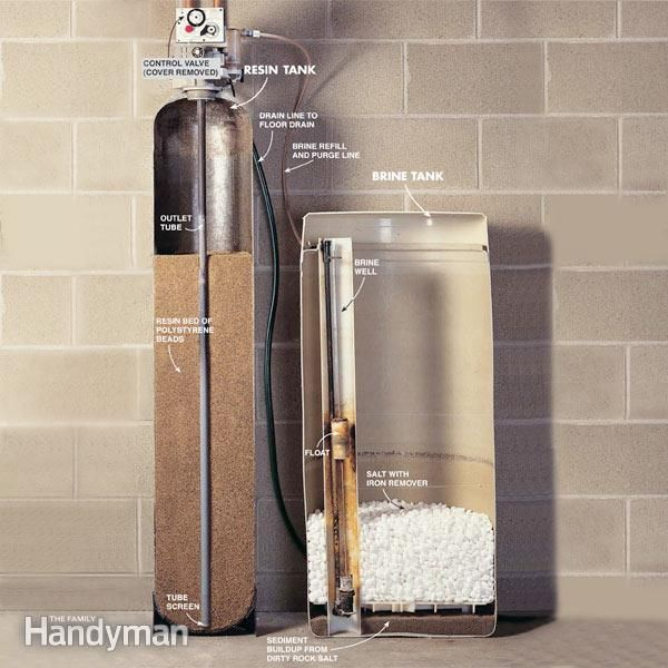 How To Repair A Water Softener Water Softener Home Repair Water Softener System