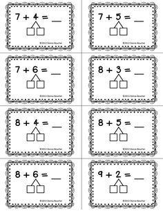 Make a Ten Strategy for Addition.pdf - Google Drive | Math ...