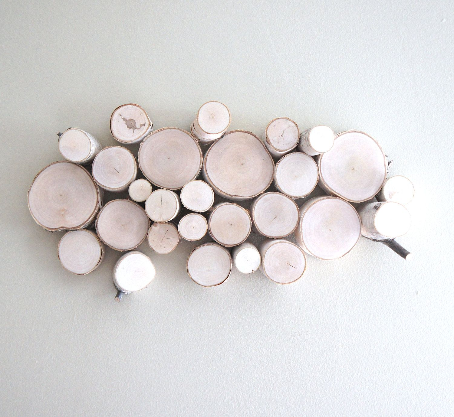 """white birch forest topography - organic white birch wood wall sculpture - 18"""" x 8"""". $140.00, via Etsy."""