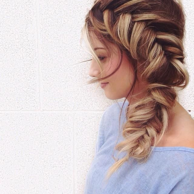 Pinterest Faithkimberly Beauty Pinterest Fishtail Hair - Braid diy pinterest