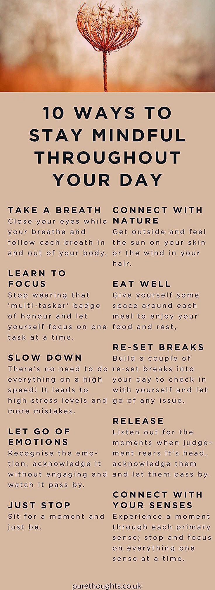 Photo of 10 Ways to Stay Mindful Throughout Your Day