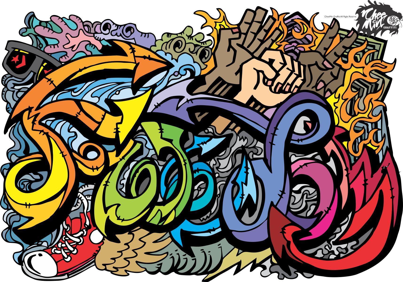 граффити на английском картинки дисплеи выполняют полезных
