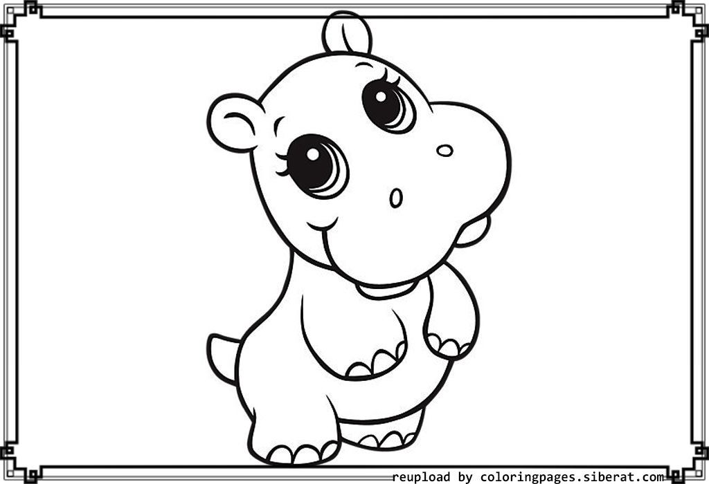 printable cute baby animal coloring pages 2 cute baby - Cow Coloring Pages 2