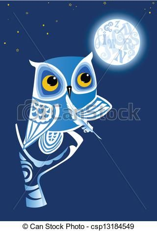 Night Owl Illustrations And Clipart 2 890 Night Owl Royalty Free Illustrations And Drawings Available To Search From Owl Illustration Illustration Owl Images