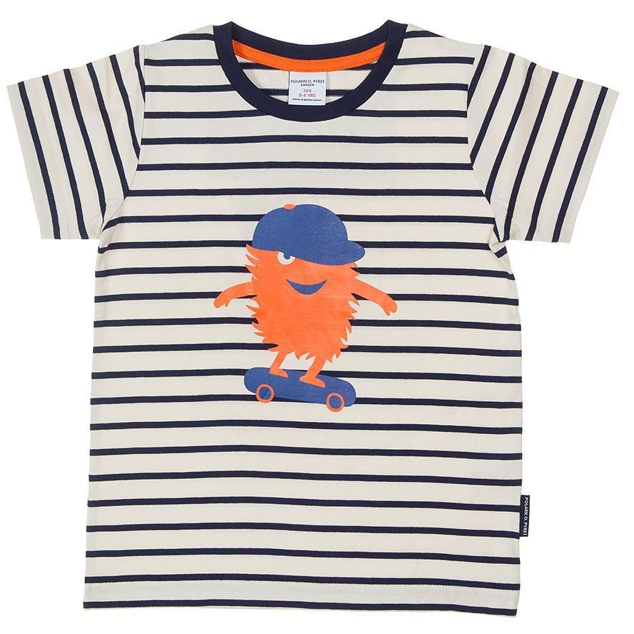 Scandinavian Style Kids T-Shirt Children/'s Orange Tee Unisex Clothing *Free P/&P*