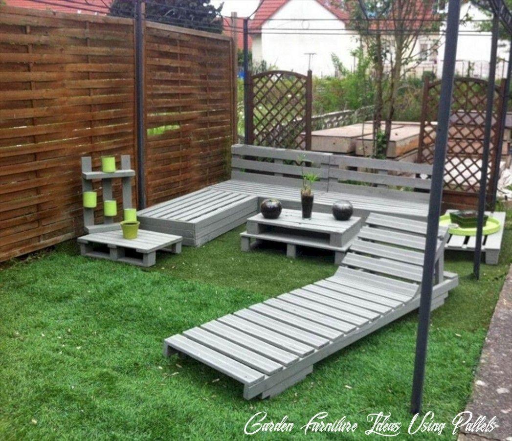16 Garden Furniture Ideas Using Pallets in 16  Pallet patio