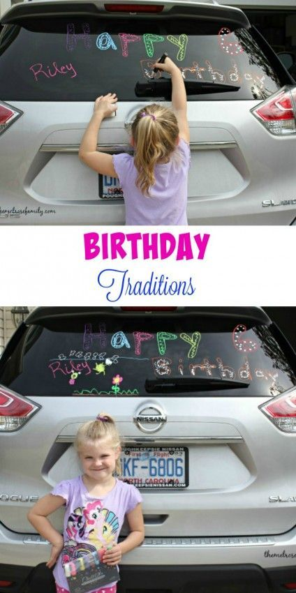 Birthday Traditions to start today to make your child's birthday that much more special