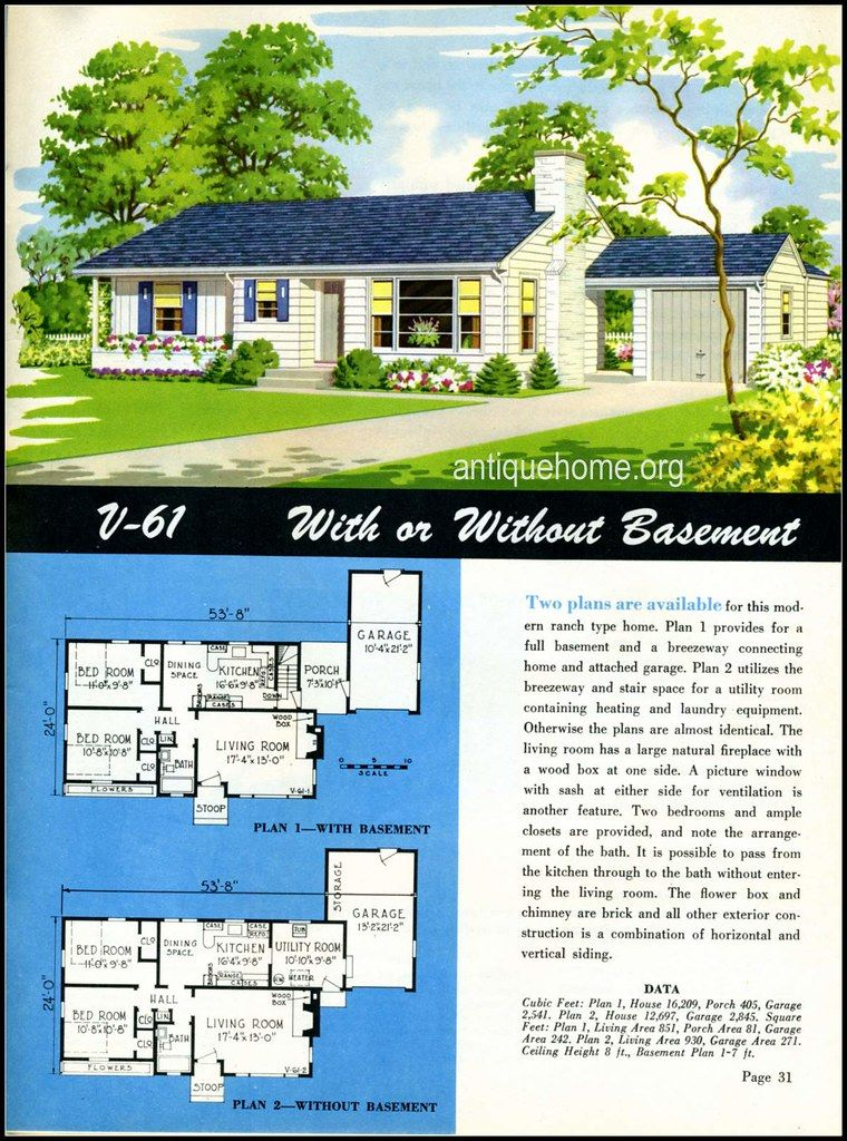 1949 National Home Style Trends House Styles House Plans With Pictures Ranch House Exterior