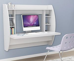 Compact Desk For Home Office Work Or Working On Computer It