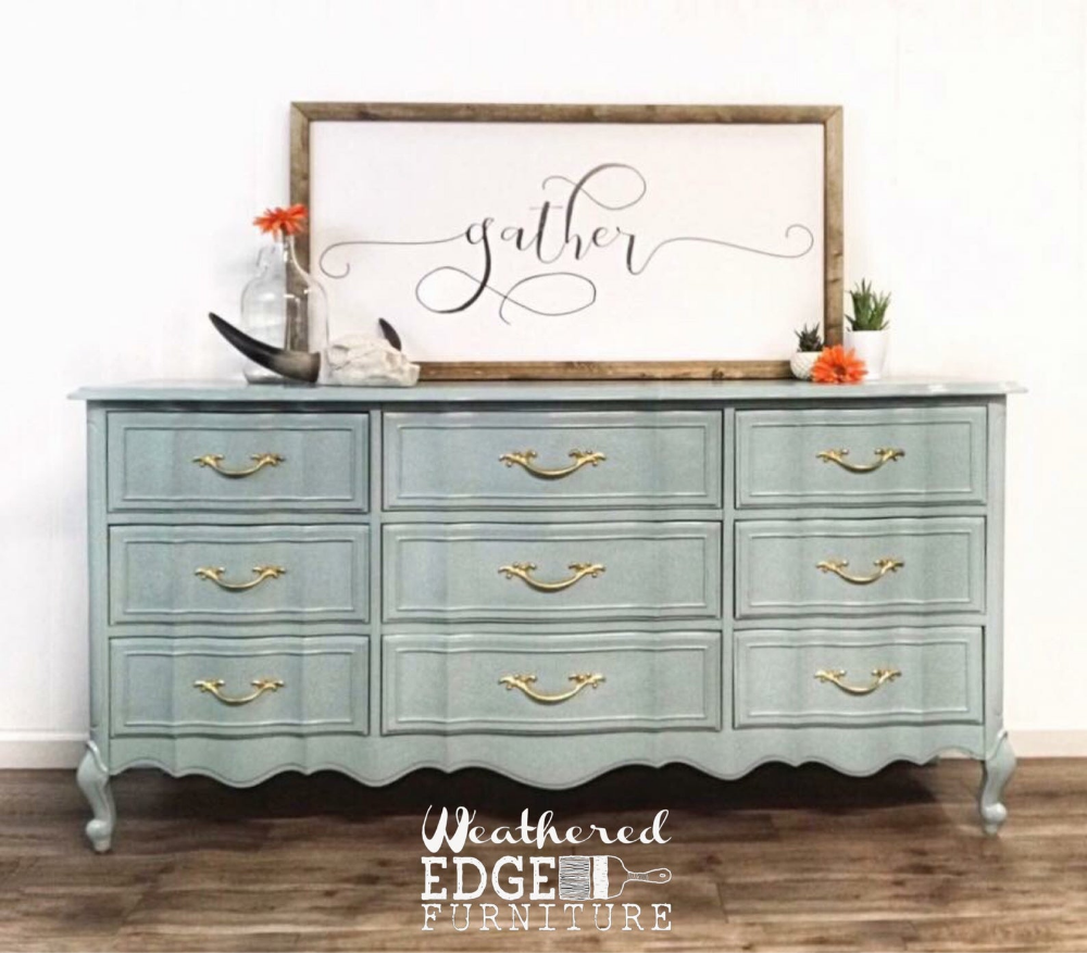 Sold 9 Drawer Broyhill French Provencial Dresser In 2020 Repurposed Furniture Diy Furniture Furniture
