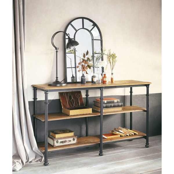 console fontainebleau maisons du monde consoles commodes vaisselier buffet etc. Black Bedroom Furniture Sets. Home Design Ideas