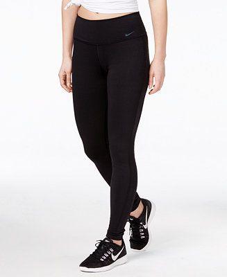 9438099479055 Nike Legend Dri-FIT Cotton-Blend Training Leggings - Pants - Women - Macy's
