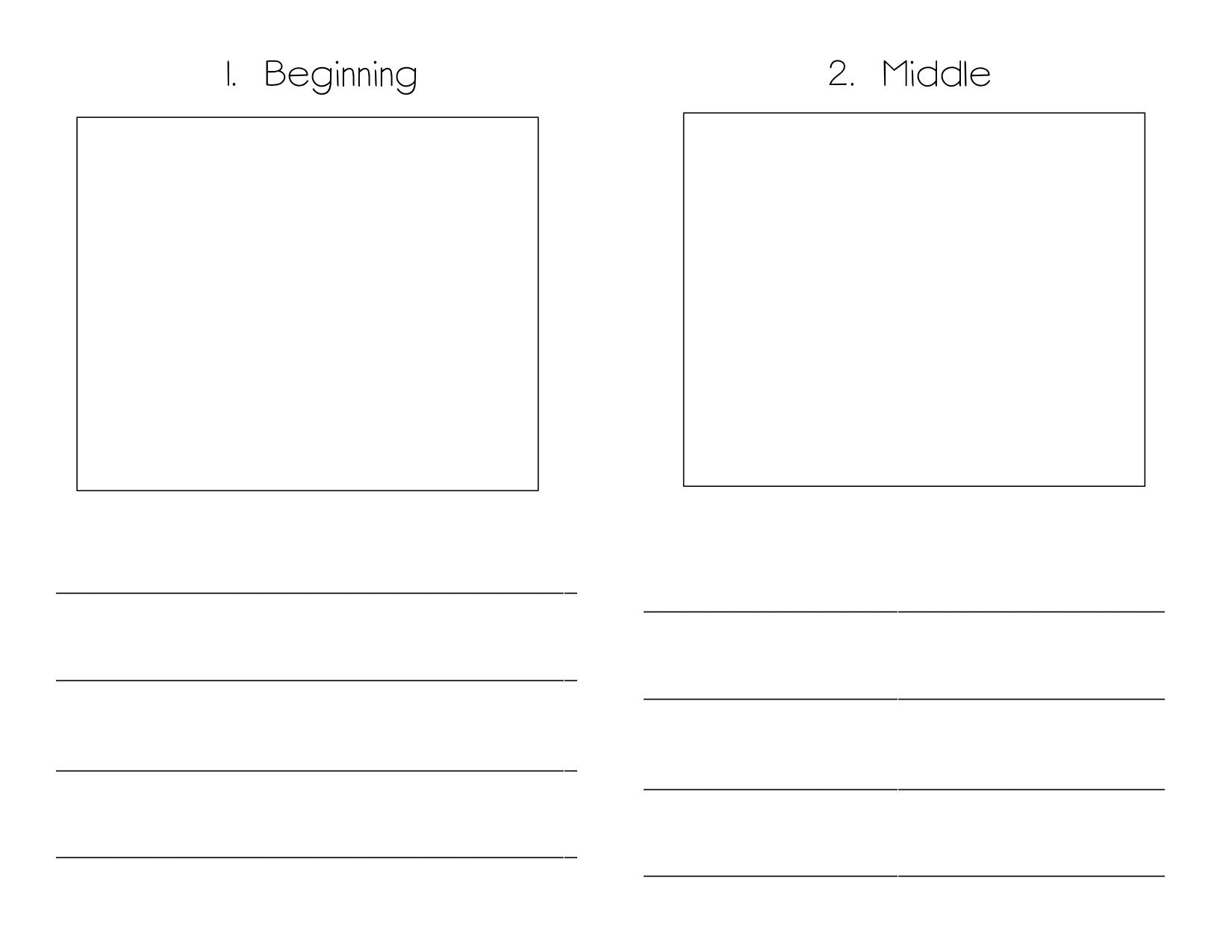 Book Writing Template Kindergarten  Monomyth    Book
