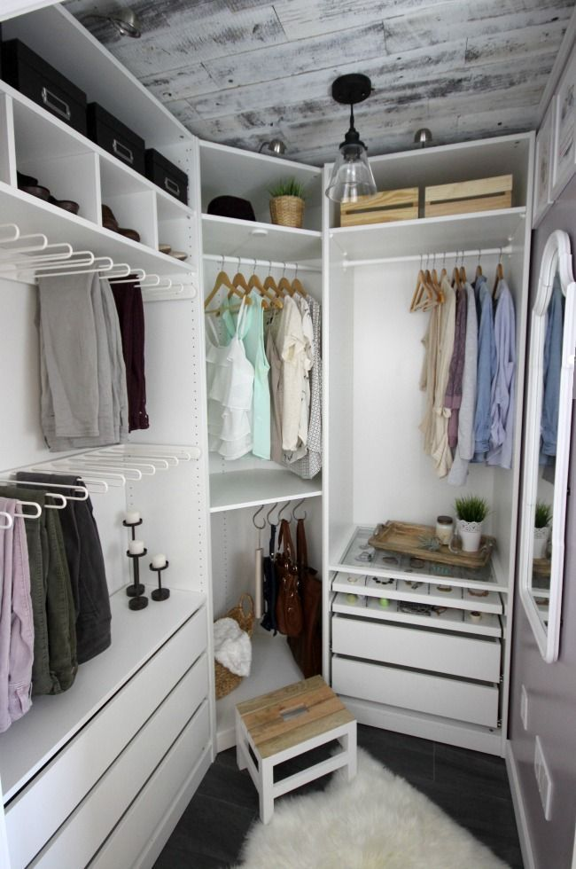 A beautiful dream closet makeover I LOVE