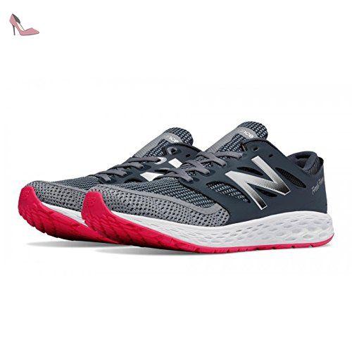 New Balance M Boracay V2 Fresh Foam - Gris Et Rouge - Chaussure Running  Homme 44