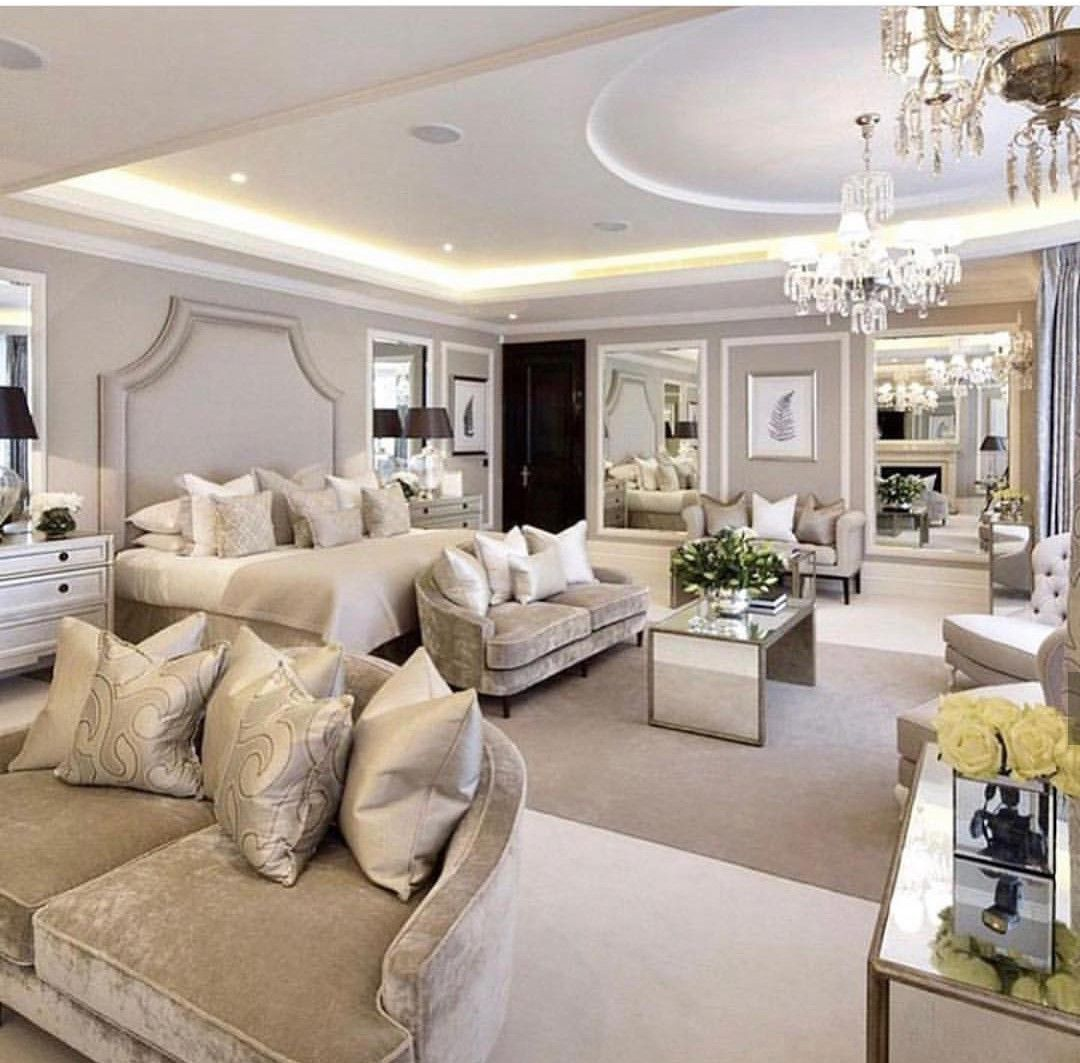 Pin By Graci Turner On Luxury House Luxurious Bedrooms Luxury Bedroom Design Luxury Bedroom Master