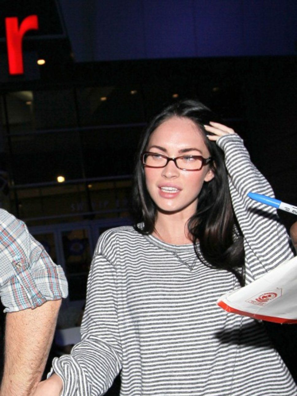 Glasses megan fox