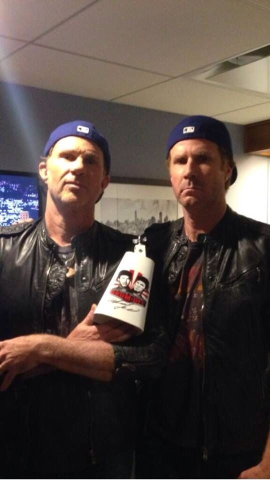 Red Hot Chili Peppers Just Posted This Will Ferrell Chad Red Hot Chili Peppers
