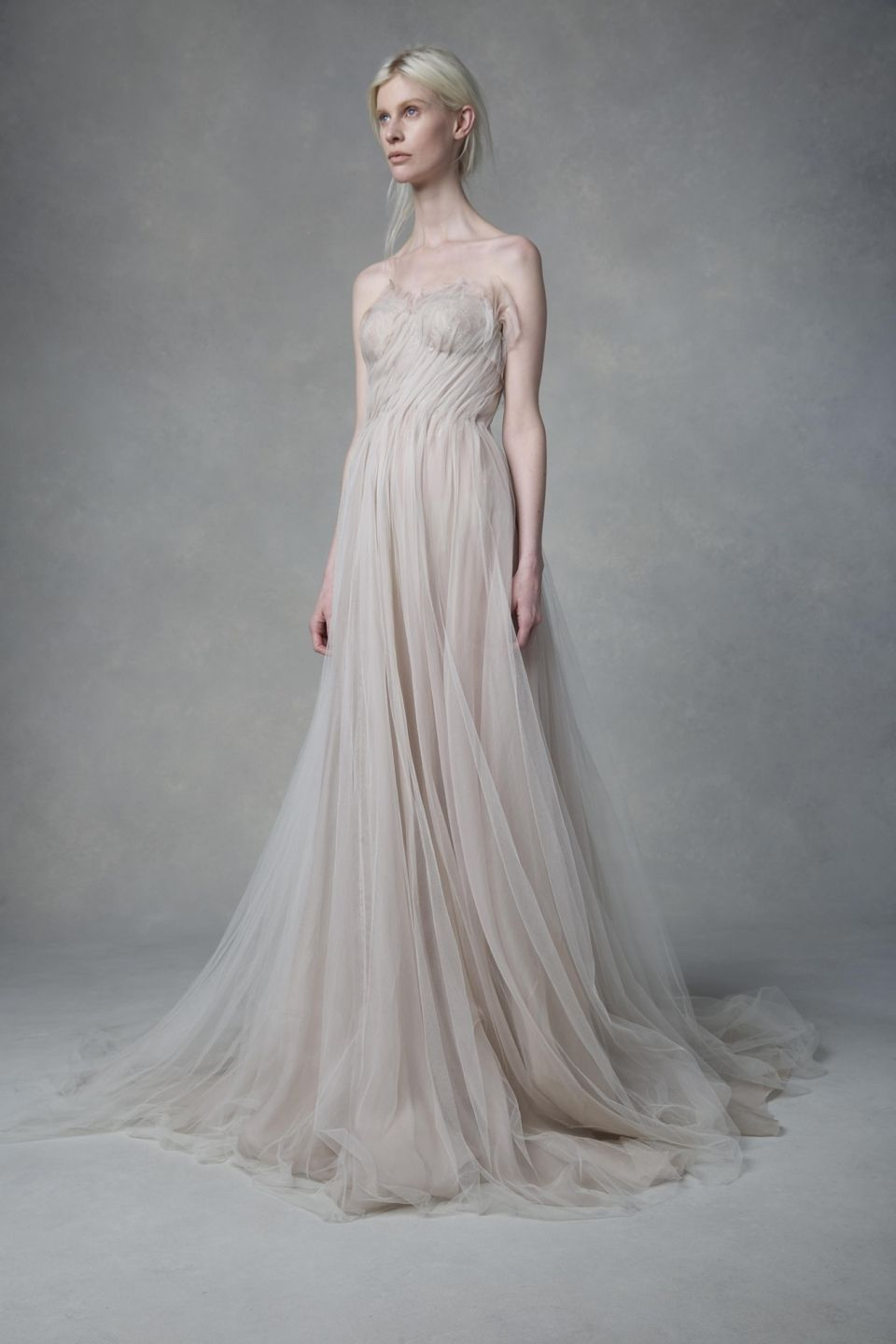Bridal trend undulating ruffles samuelle couture ball gowns