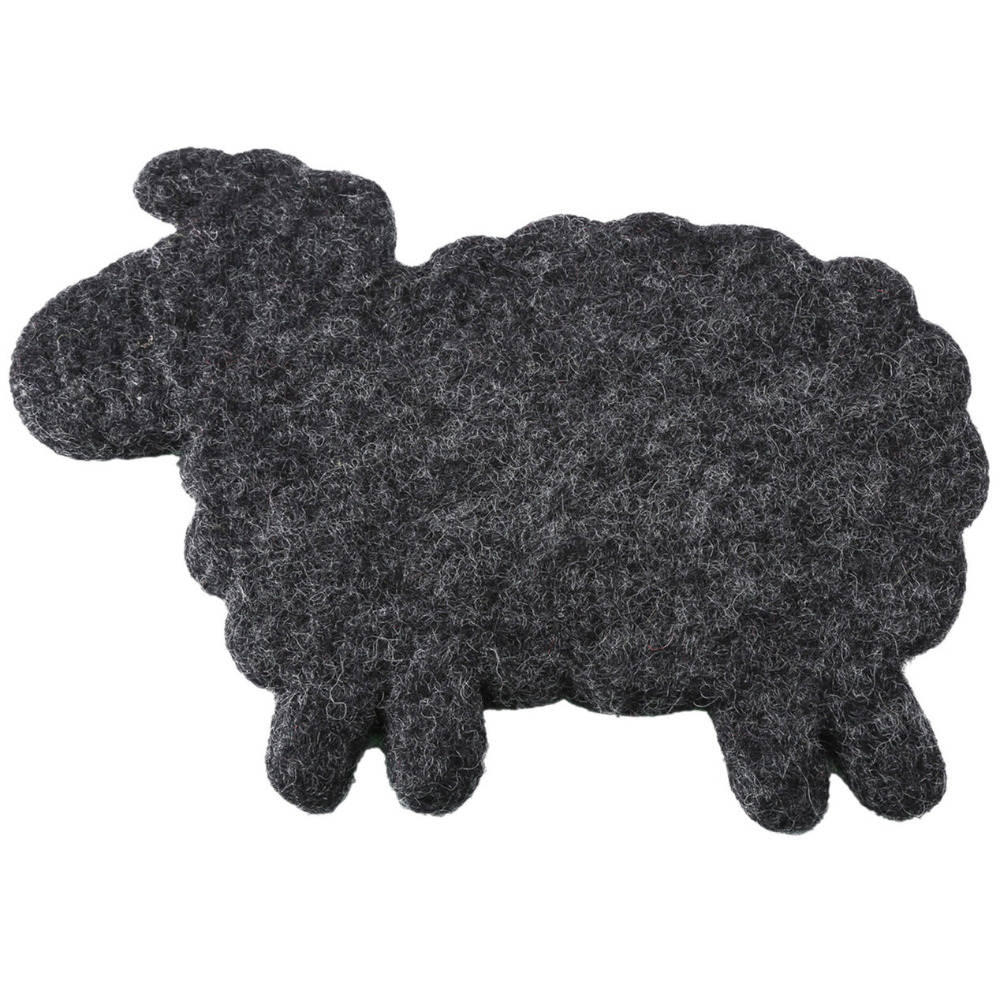 Felt Black Sheep Trivet At Home Sheep Template Sheep Black Sheep
