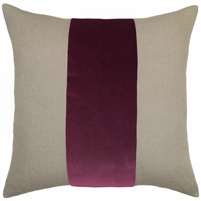 Ming Linen Feathers Pillow In 2020