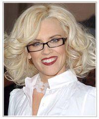 Mature Blonde Glasses