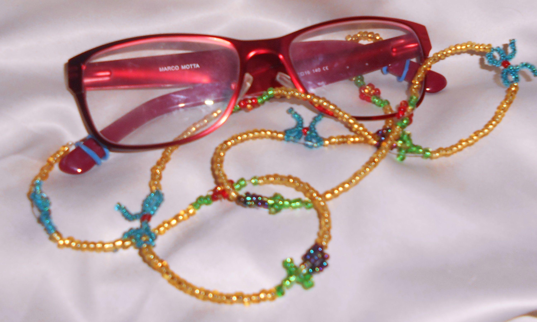 e0783794f6 CORDON DE CRISTALES PARA LAS GAFAS. CORD of crystals for the glasses ...