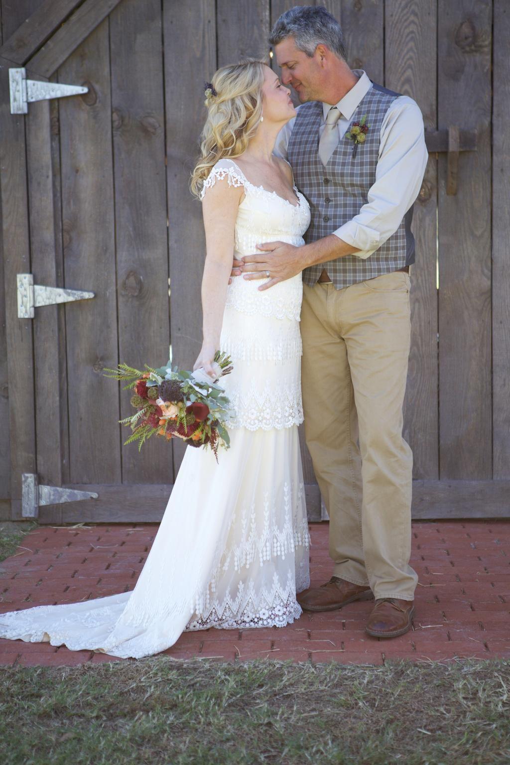 Claire Pettibone Kristene Wedding Dress Used Twice, Size