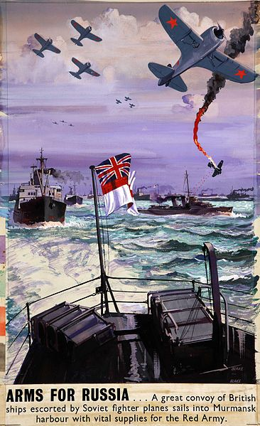 Today in world war ii historyjan 17 1942 wwii pinterest arctic convoy poster british wwii publicscrutiny Image collections