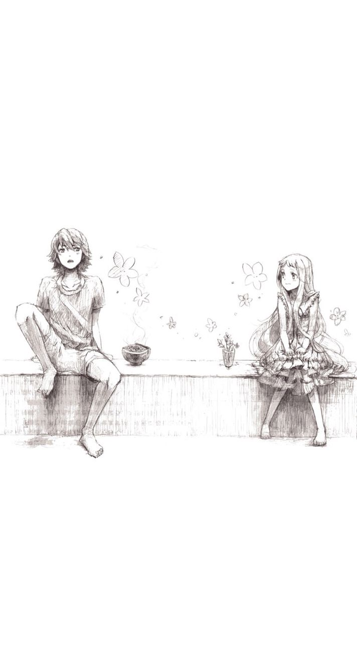 A boy and a girl sitting on a bench